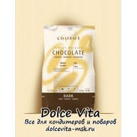 Темный шоколад Callebaut (select). Содержание какао-продуктов 53%