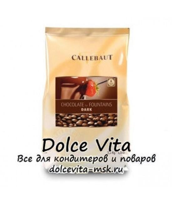 Специализированный темный шоколад для фонтанов