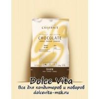 Горький шоколад Callebaut (strong). Содержание какао продуктов 70.4%