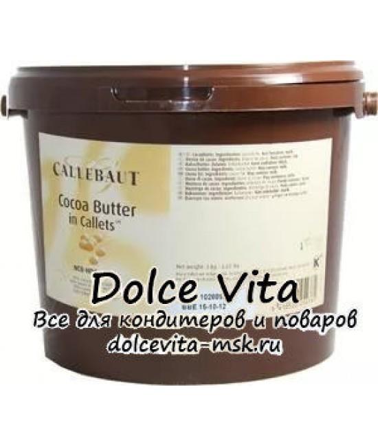 Какао масло Каллебаут (Callebaut) в форме дисков