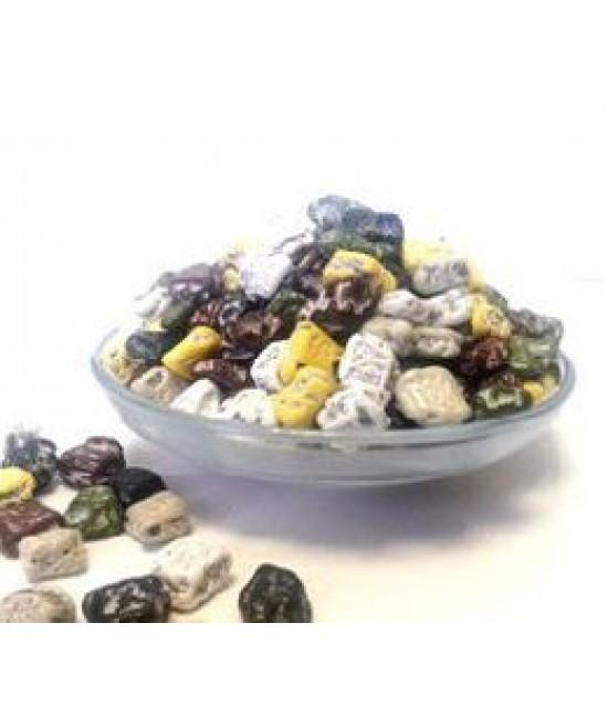 Камешки шоколадные  в сахарной оболочке микс цветов