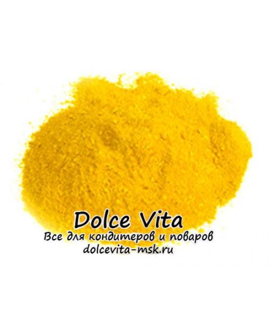 Краситель пищевой сухой водорастворимый Тартразин (цвет желтый)