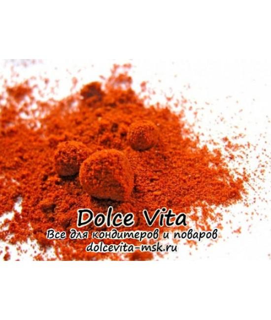 Краситель пищевой сухой водорастворимый Желтый сансет (цвет оранжевый)