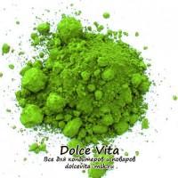 Лак краситель жирорастворимый в порошке зеленый