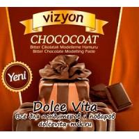 Мастика для моделирования темный шоколад Визьен (Vizyon) (ожидается)
