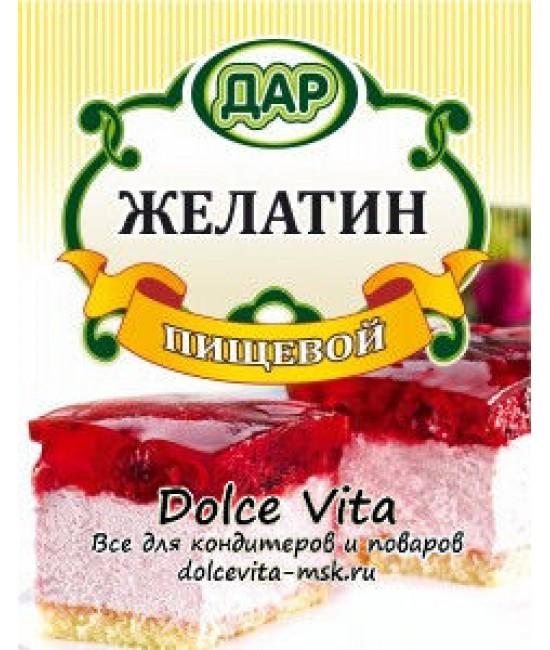 Желатин пищевой 50 гр (ожидается)